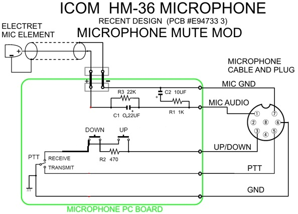 HM36_MIC_MOD2 boatanchors icom hm-152 microphone wiring diagram at couponss.co
